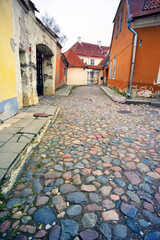 Wall Mural - Streets of old Tallinn