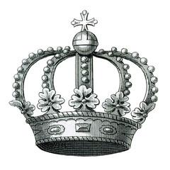 Sketched Vector Royal Crown