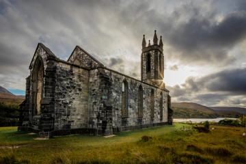 Canvas Prints Old building old church donegal ireland