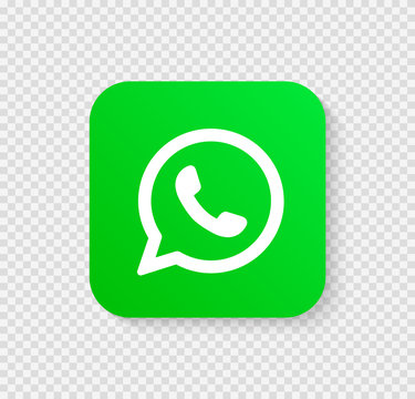 Social media icons illustration whatsapp