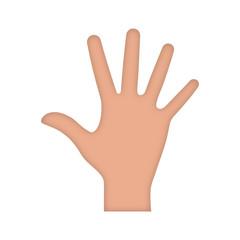 dłoń ikona