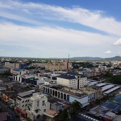 Foto op Aluminium Algerije Hat Yai City