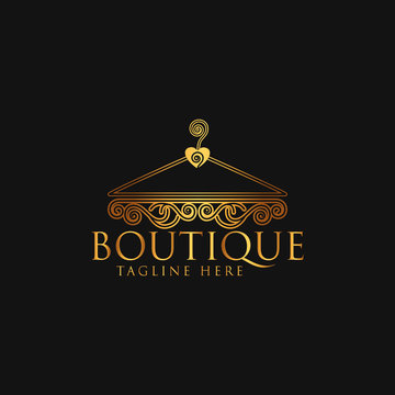 Boutique logo Design Vector Template