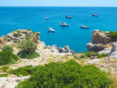 Rhodos - Wandern zwischen Traganou und Ladiko Beach