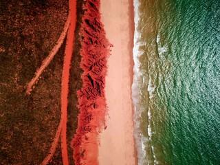 Foto auf Leinwand Braun James Price Point, Broome - Western Australia