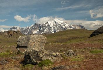 Berge im Nationalpark Torres del Peine