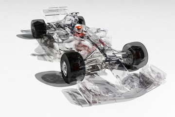 Wall Mural - Racing cars