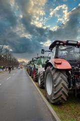 Landwirte setzen ein Zeichen - Demostration in Berlin