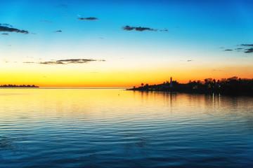 Sunset in Colonia del Sacramento, Uruguay