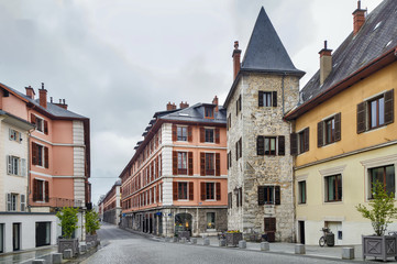 Fotomurales - Street in Chambery, France
