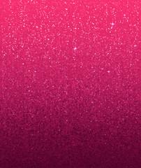 Pink shining glitter gradient vector Valentines day banner background
