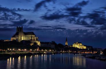 Heure bleue à Auxerre