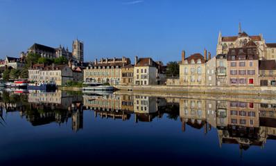 Auxerre en Bourgogne