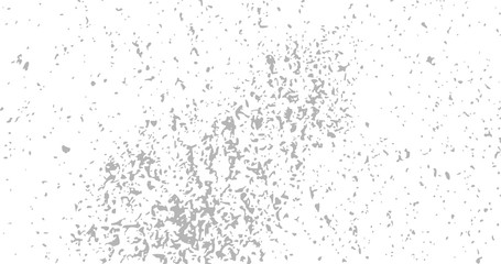 Black and white dust, sand, paint drops or noise grainy HD overlay background. Vector illustration.