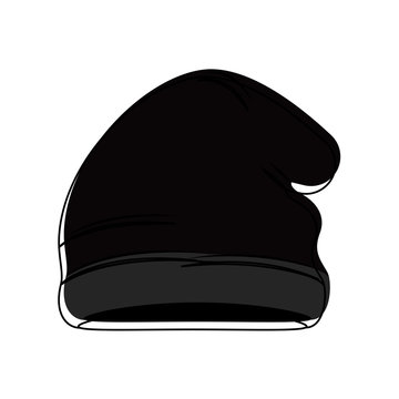 Isolated winter hat icon