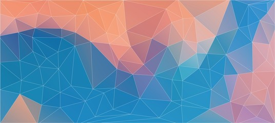 Old style background with triangle circle shapes for web design