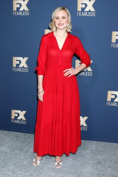 Alison Pill at arrivals for FX Networks Winter TCA Starwalk