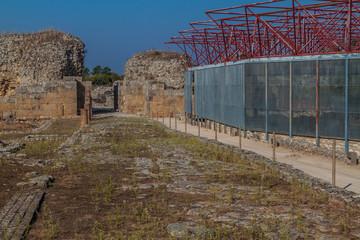 Wall Murals Ass View of Conimbriga Roman ruins, Portugal