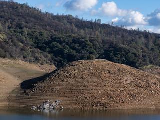 Low Water Line at Lake