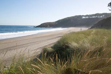 View of Frejulfe Beach; Asturias