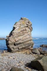 Rock at Pormenande Beach; Asturias