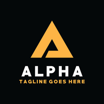 Alpha Logo Design Inspiration For Business And Company