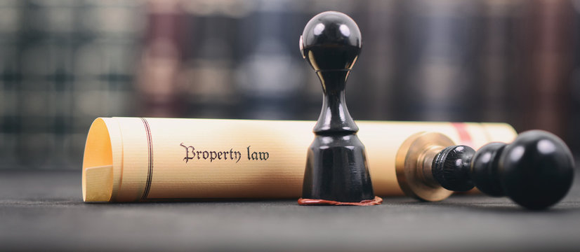 Property law , Notary seal , Legality concept, property law act .