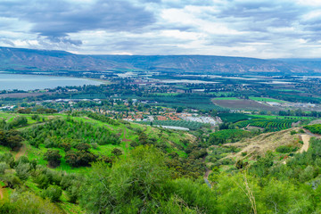 Southern part of the Sea of Galilee