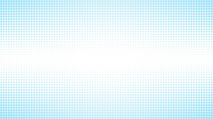 Abstract dotted light blue background with striped texture. Seamless creative technology halftone pattern illustration on white background. Design for poster, banner, website or template.