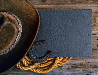 western cowboy background