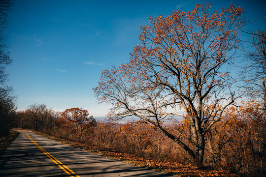 Blue Ridge Parkway, South River, Lyndhurst, Virginia, USA.