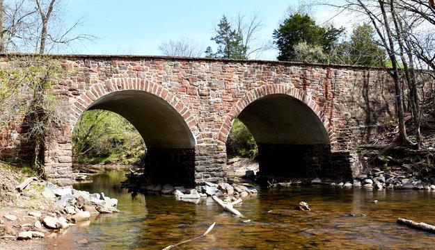 The Stone Bridge at Manassas National Battlefield Park, Virginia
