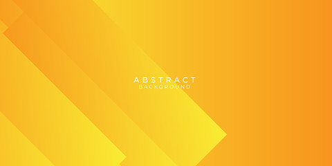 Fresh Orange Yellow Circle Line Abstract Background Presentation Vector Illustration Wall mural