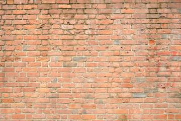 ściana z cegły jako tło