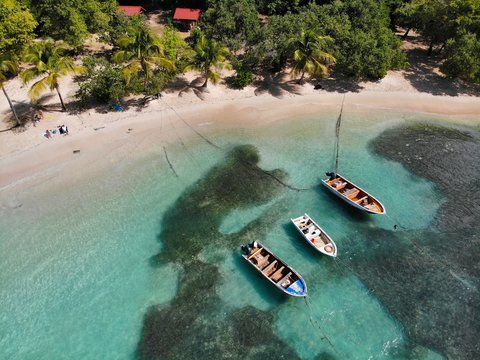 Guadeloupe beach