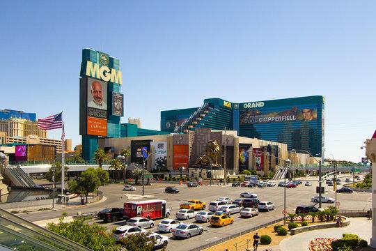 Las Vegas, Nevada - Exterior of the MGM Resort on the Las Vegas Strip
