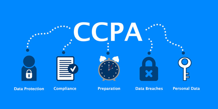 California Consumer Privacy Act (CCPA) Concept Illustration - 1 January 2020