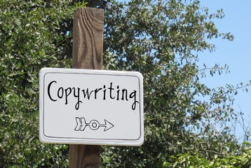 Obraz Copywriting - fototapety do salonu