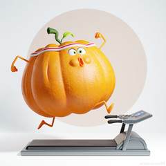Getting in shape for Halloween — 3D illustration • In vorm komen voor Halloween — 3D illustratie