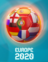 Portugal Europe Football 2020 Teams