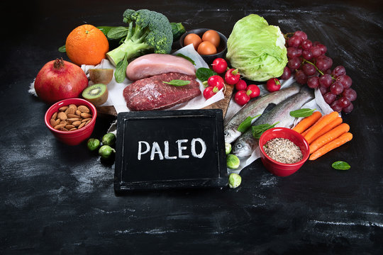 Various Paleo diet products