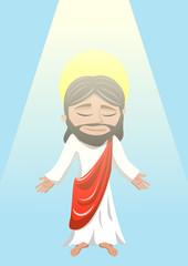 Jesus Christ resurrection ascension to heaven