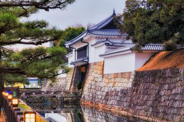 Poster de jardin Kyoto JP Kyoto Nijo Gate Moat