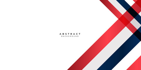 White Red Silver Gradient Blue Box Rectangle Abstract Background Vector Presentation Design Wall mural