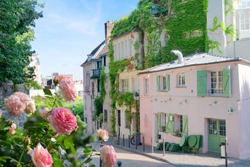 cityscape Mont Matre , Paris, France Fotomurales