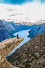 Hiking Trip to Trolltunga, Norway.
