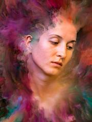 Aluminium Prints Painterly Inspiration Beyond Emotions