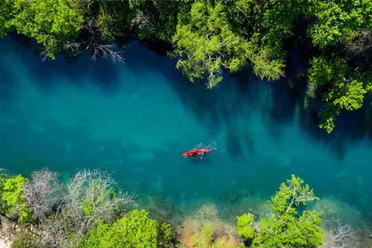 Barton Creek Overhead