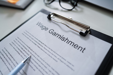 Wage Garnishment Document