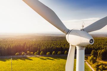 Wind Turbines Windmill Energy Fototapete